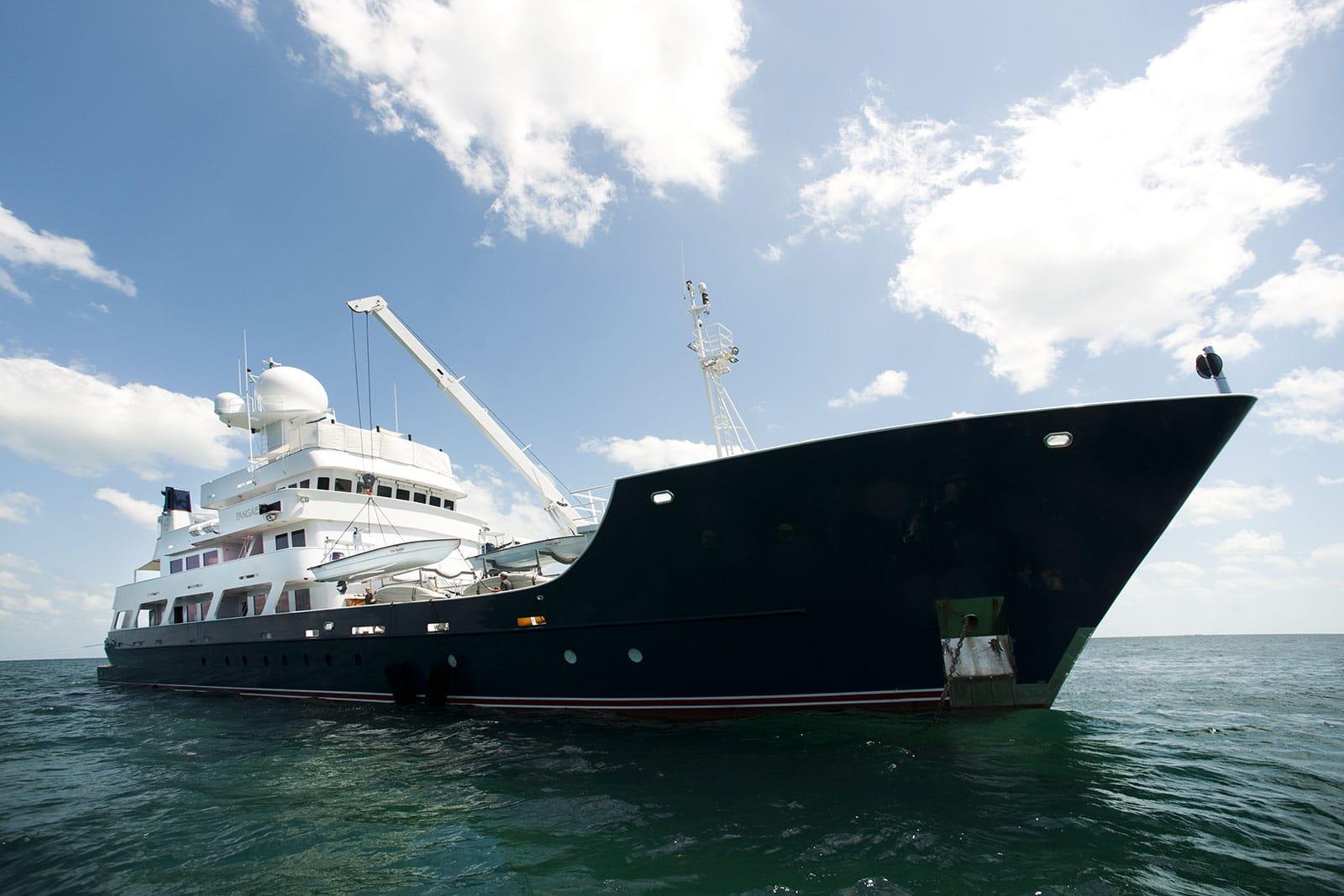 Andrew Twiggy Forrest yacht