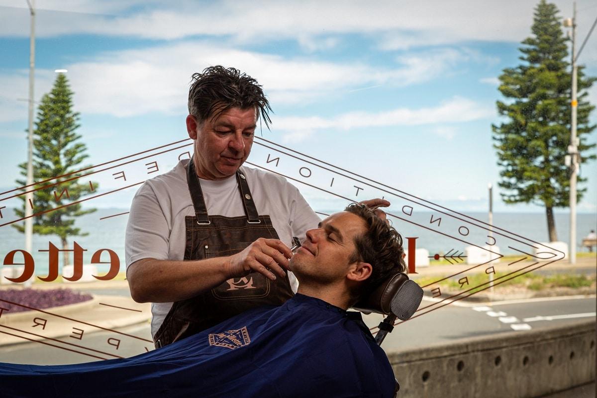 Gillette barber shop bondi