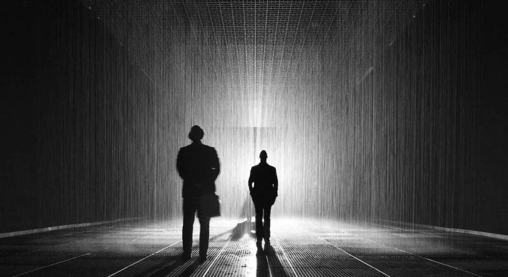 Rain Room in Melbourne