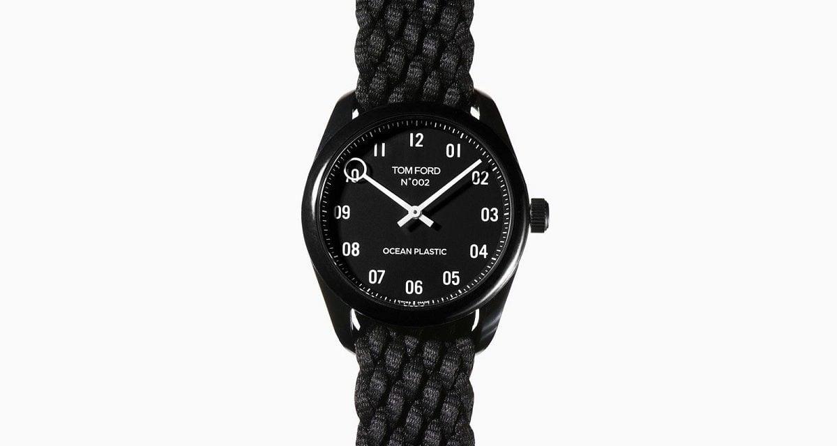 Tom Ford Ocean Plastic Watch 1