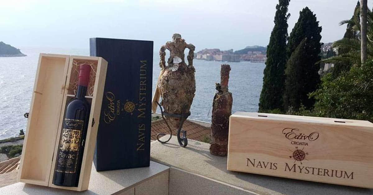 Underwater Wine Cellar in Croatia 2