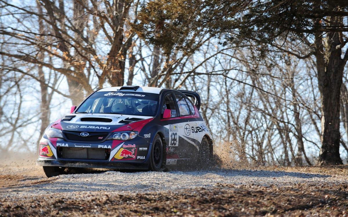 Travis Pastrana Rally Car