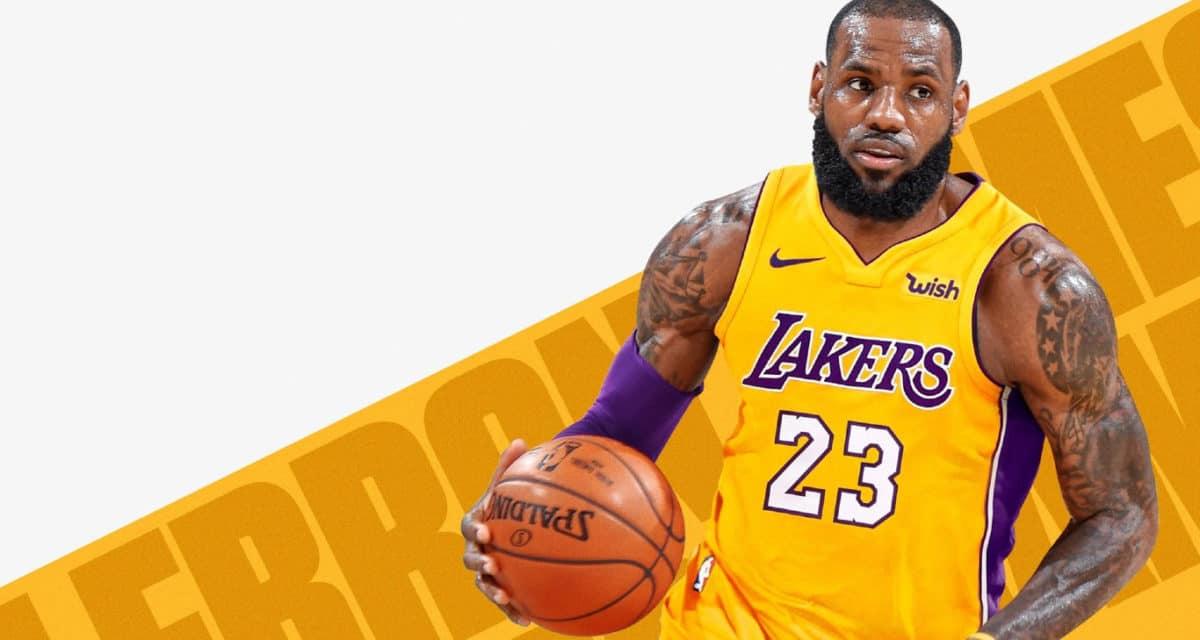 LeBron James Contract 2020