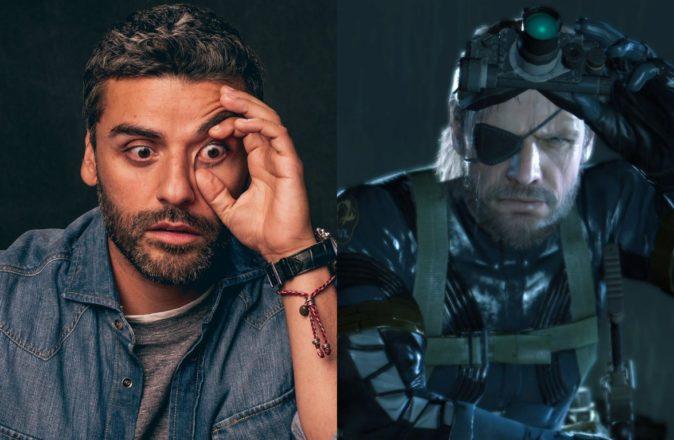 Oscar Isaac Solid Snake Sony Metal Gear Solid Movie