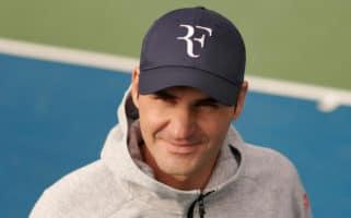 Roger Federer UNIQLO RF Cap