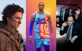 Warner Bros Stream 2021 Matrix 4 Dune Space Jam A New Legacy The Many Saints of Newark