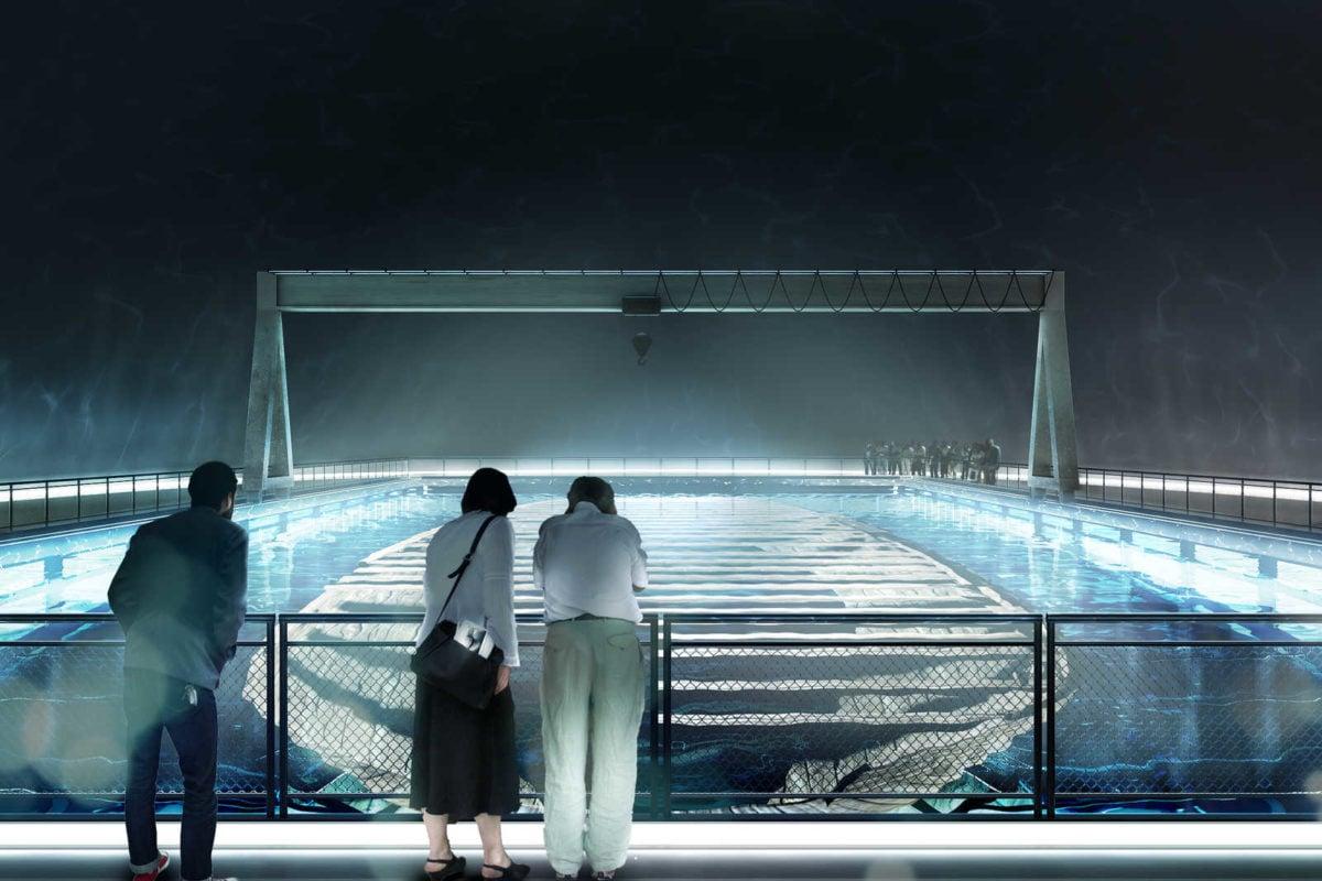 underwater museum shipwreck - DOCKING THE AMSTERDAM