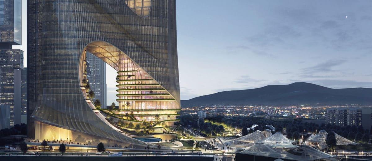 Zaha Hadid Tower C Shenzhen