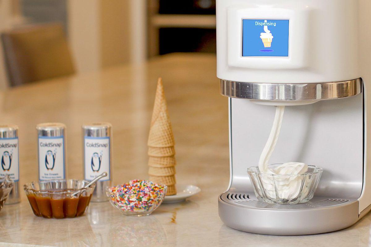 ColdSnap Soft Serve ice cream keurig