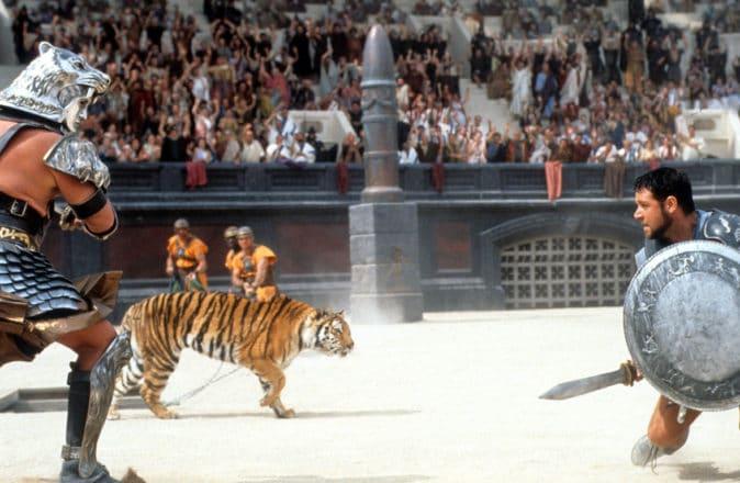 Colosseum, Rome Restoration 2023 - Gladiator