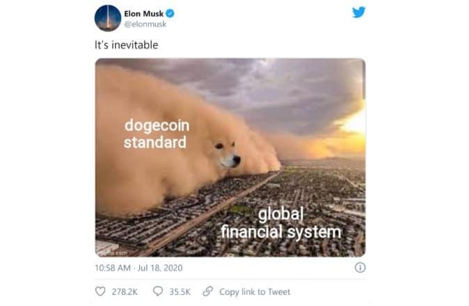 DogeCOIN 140 Elon Musk Meme Cryptocurrency