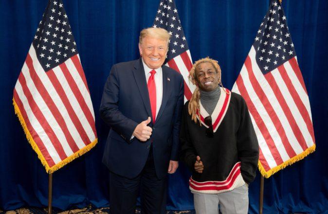 Donald Trump Lil Wayne Pardon