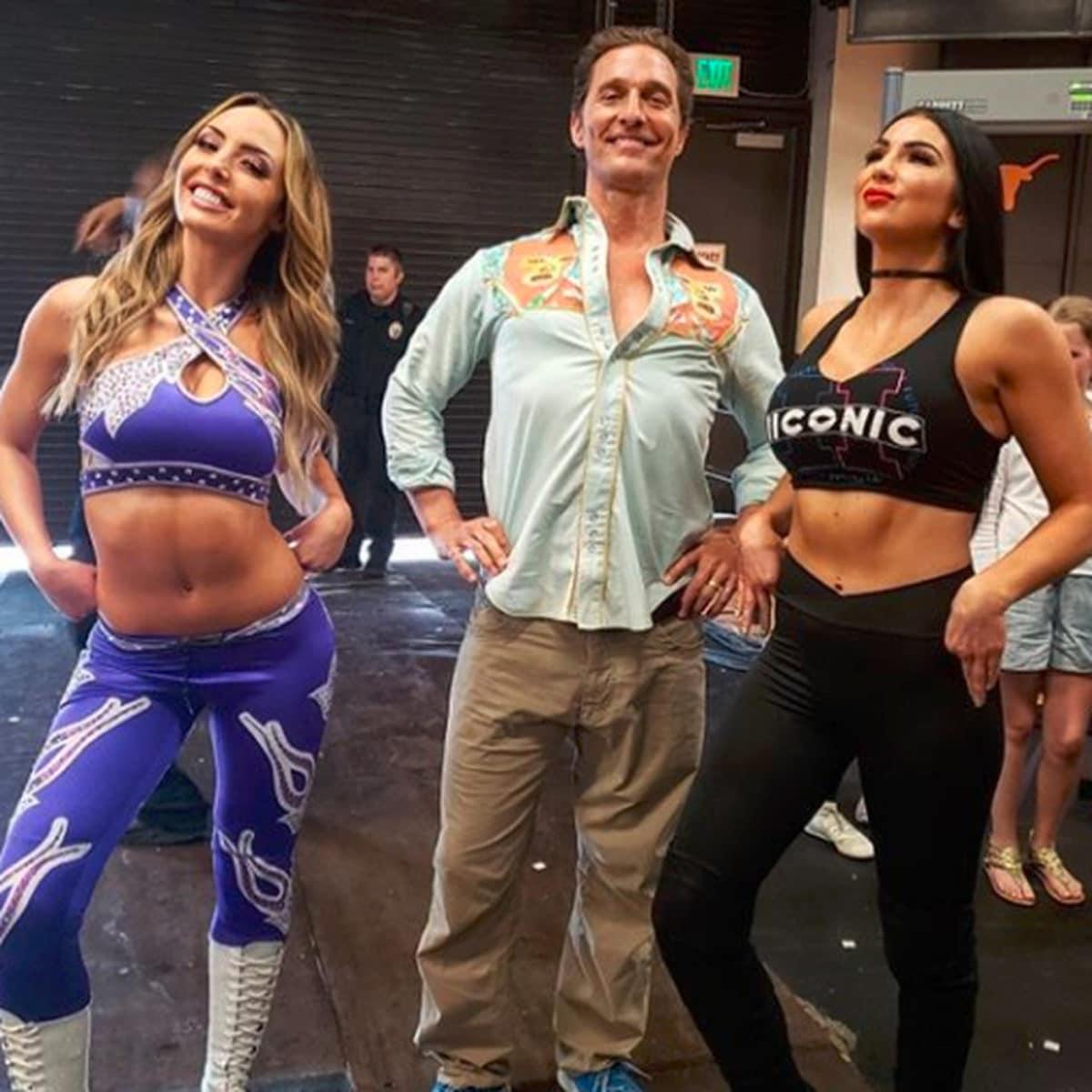 Matthew McConaughey WWE
