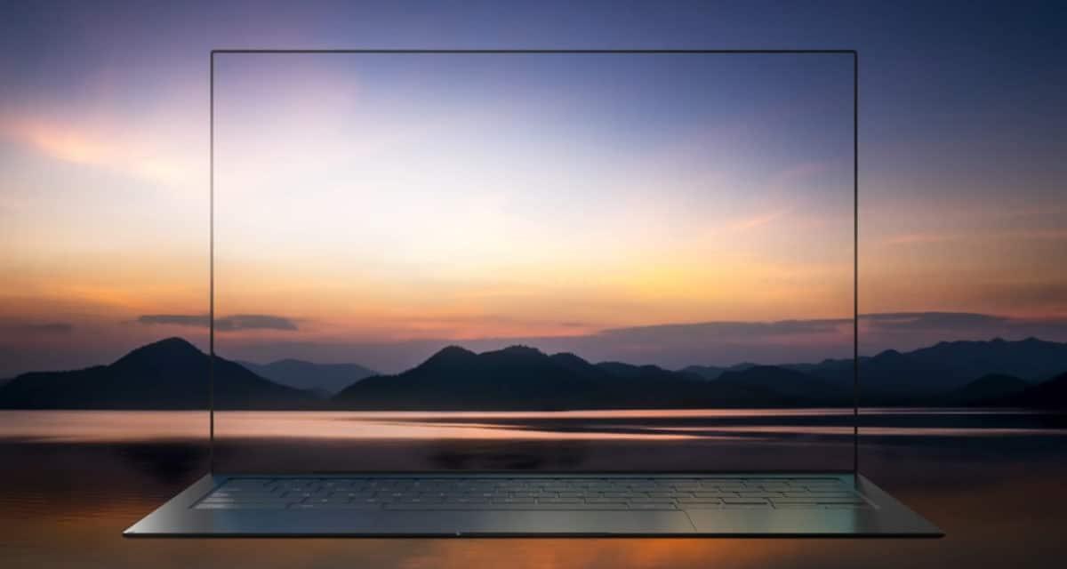 Samsung Blade Bezel 1mm laptop