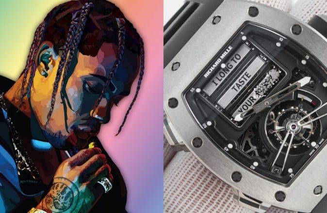 Travis Scott Richard Mille RM 69