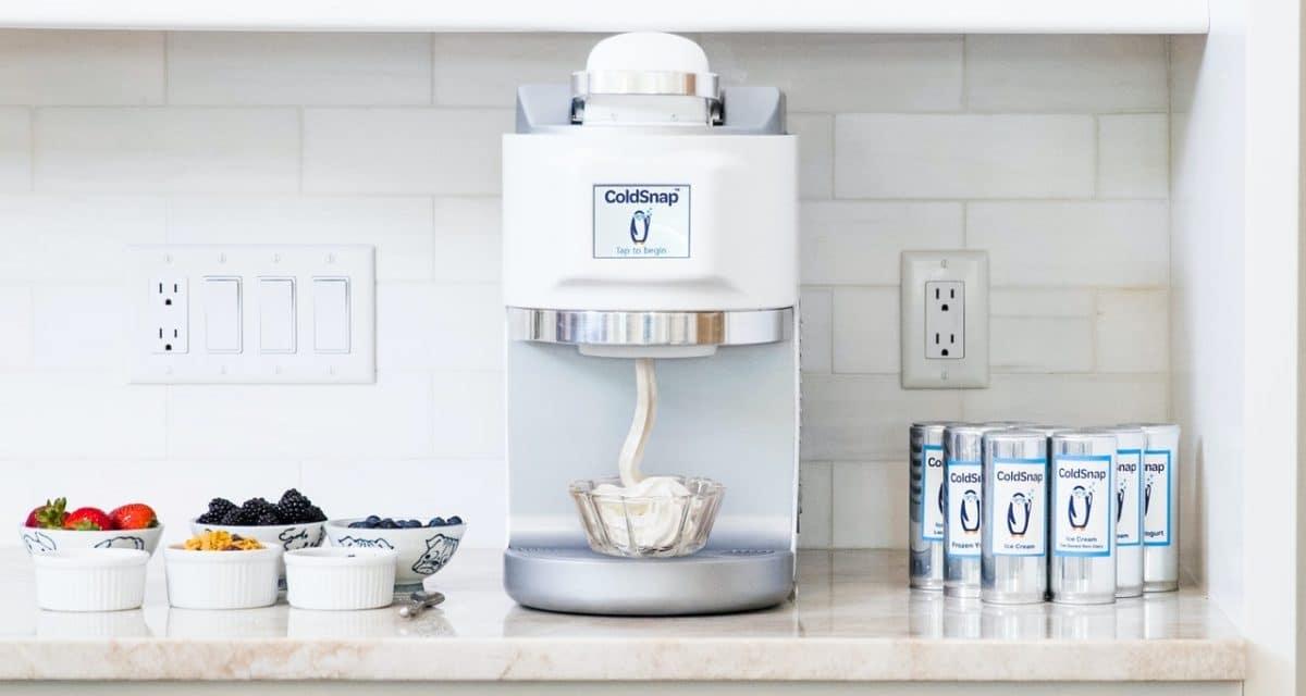 coldsnap ice cream machine keurig