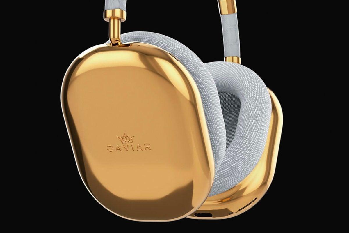 CAVIAR Apple AirPods Max Gold