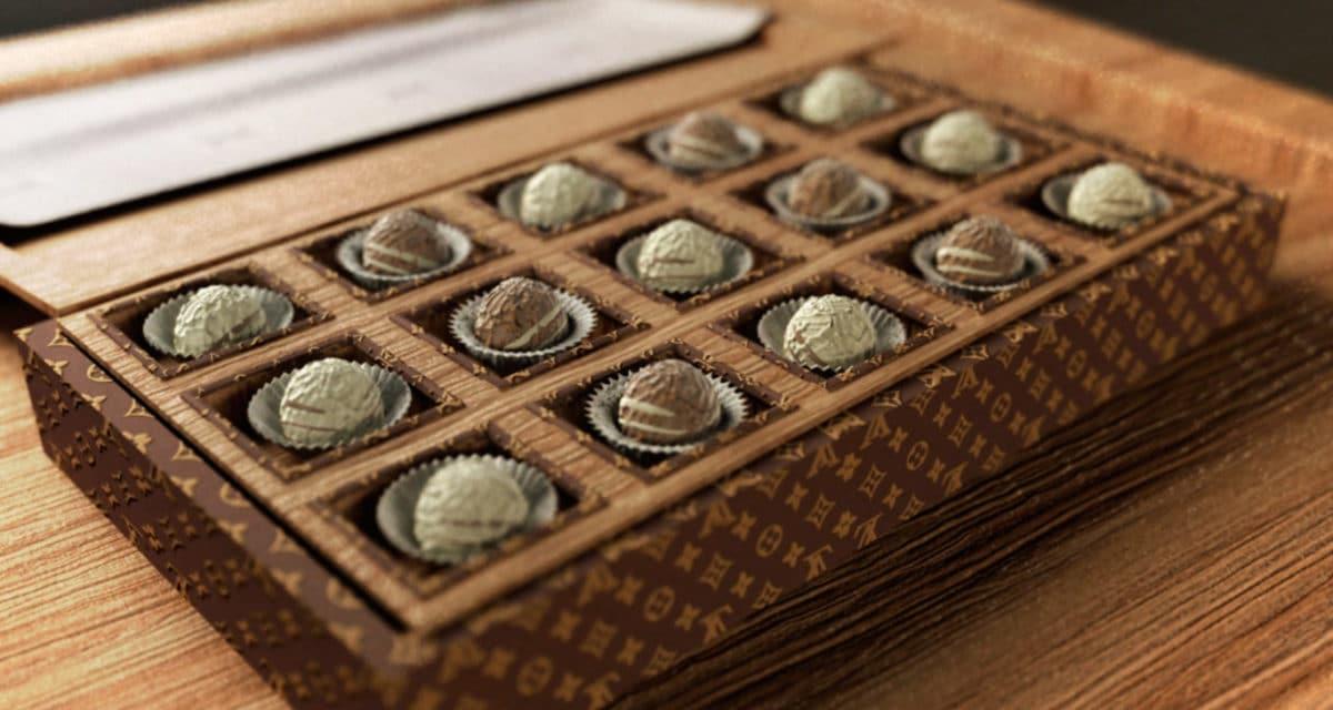 louis Vuitton chocolate shop le chocolat v japan