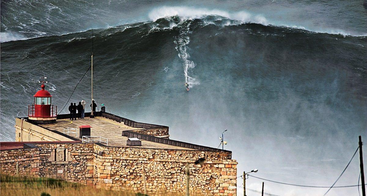 hbo 100 foot wave garrett mcnamara nazare portugal surf documentary