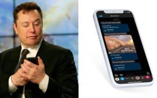 Elon Stocks investing app tweet notification