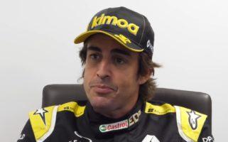 Alpine F1 Fernando Alonso Cycling Accident