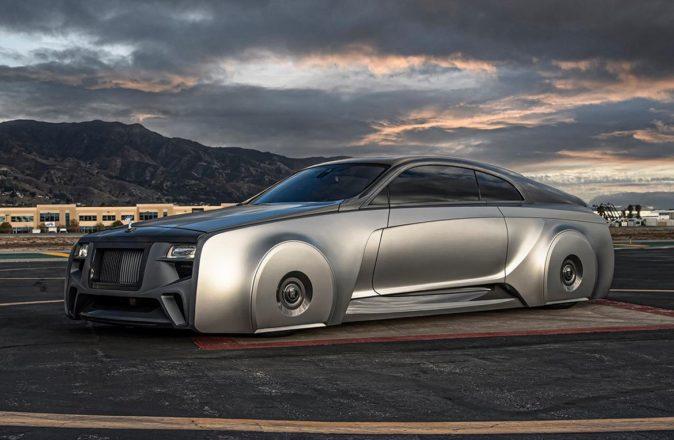 Justin Bieber 2018 custom Rolls-Royce Wraith