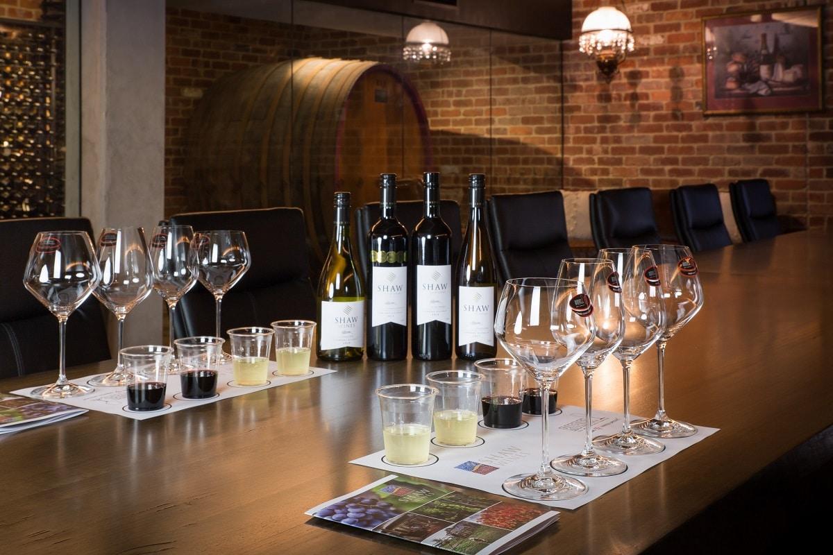 Shaw Escape wines
