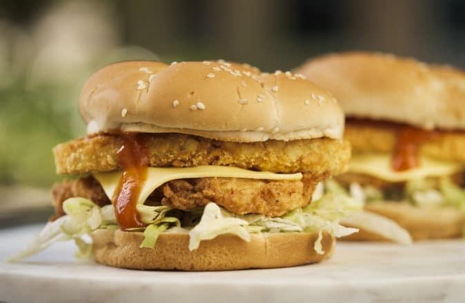 KFC Australia Tower Burger