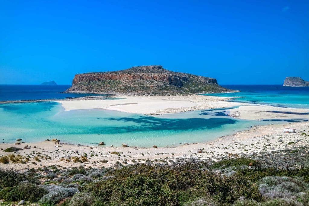 world's best beaches - Balos Lagoon in Greece.