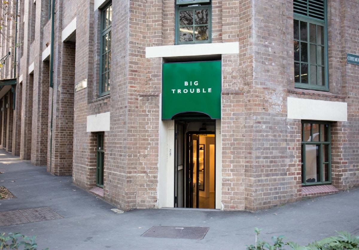Big Trouble stocks plenty of streetwear, making it one of the best menswear stores in Sydney.