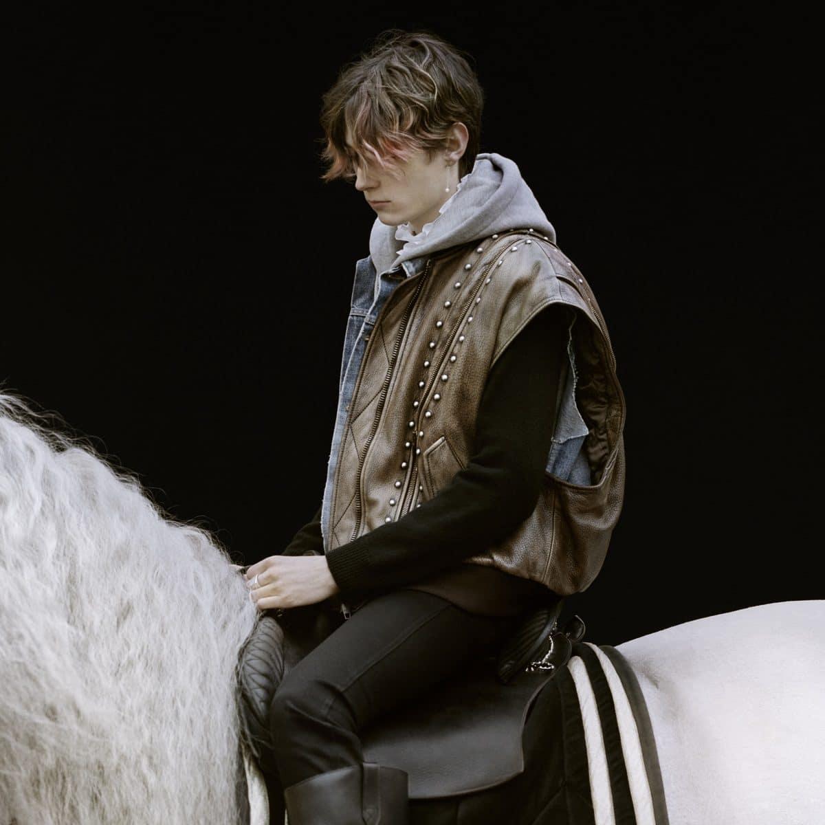 Celine homme menswear 21 horse