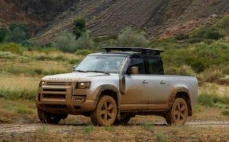 Land Rover Defender ute