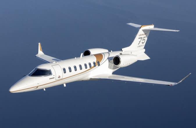 Learjet will stop production in 2021.