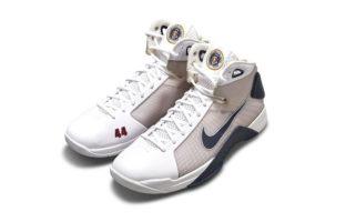 Barack Obama Nike Hyperdunk kicks