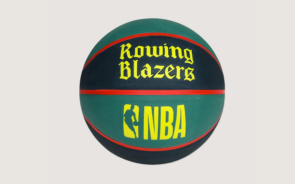 The Rowing Blazers x NBA basketball.