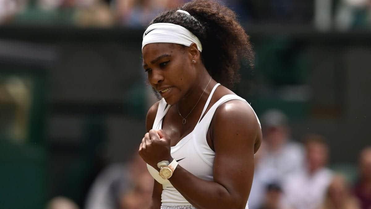 Serena Williams wearing a Audemars Piguet.  luxury watches tennis