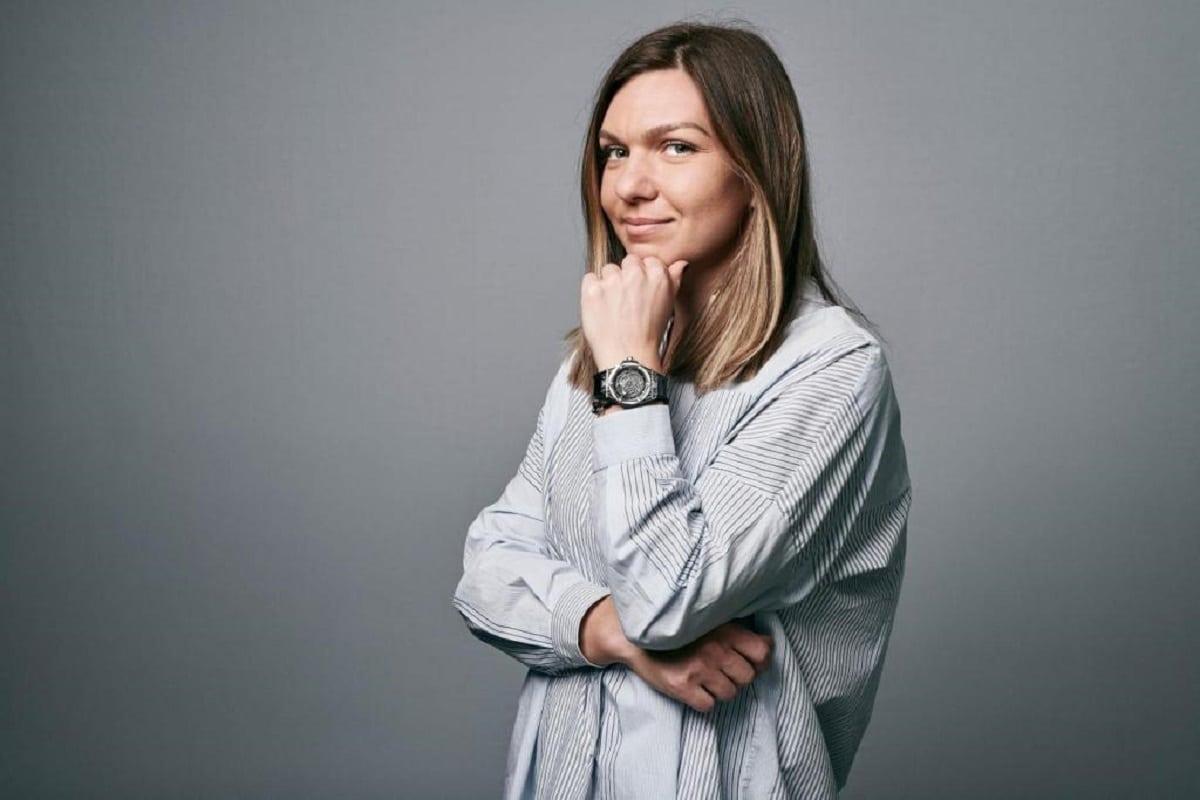 Simona Halep sporting a Hublot.  luxury watches tennis