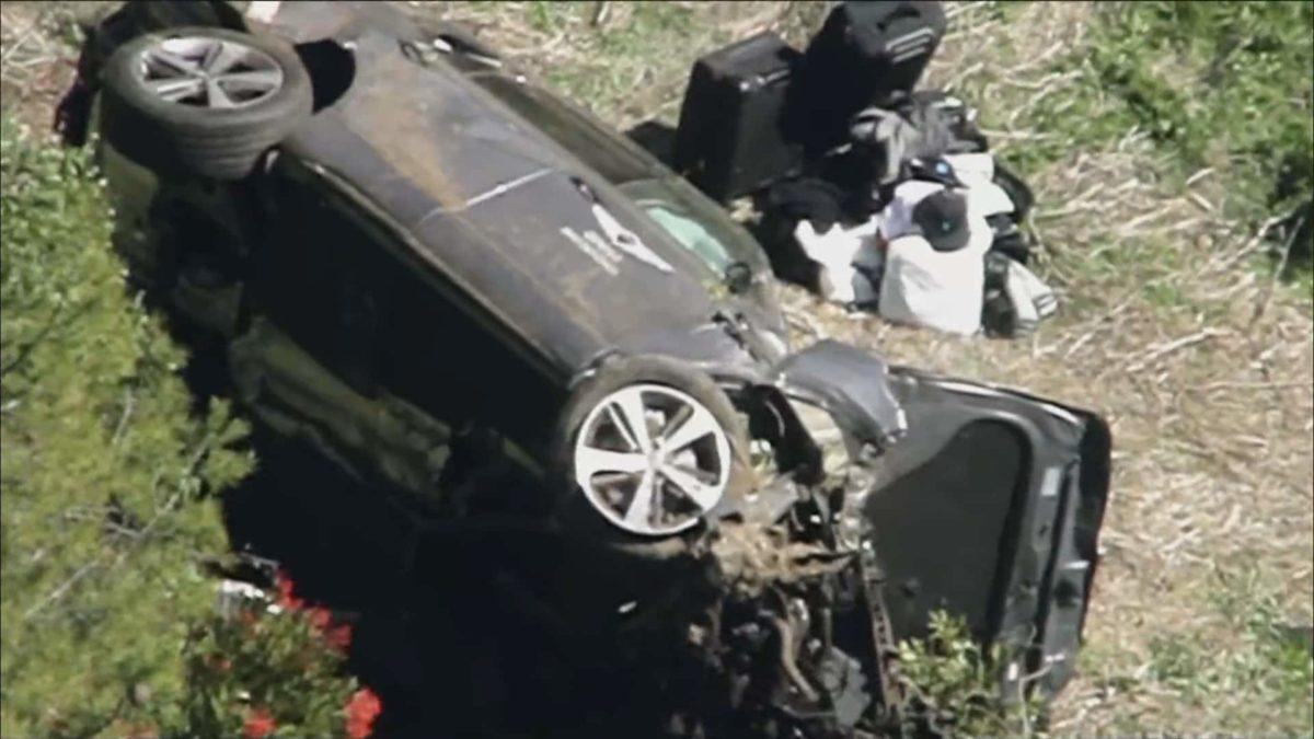 Tiger Woods Car Crash 2021