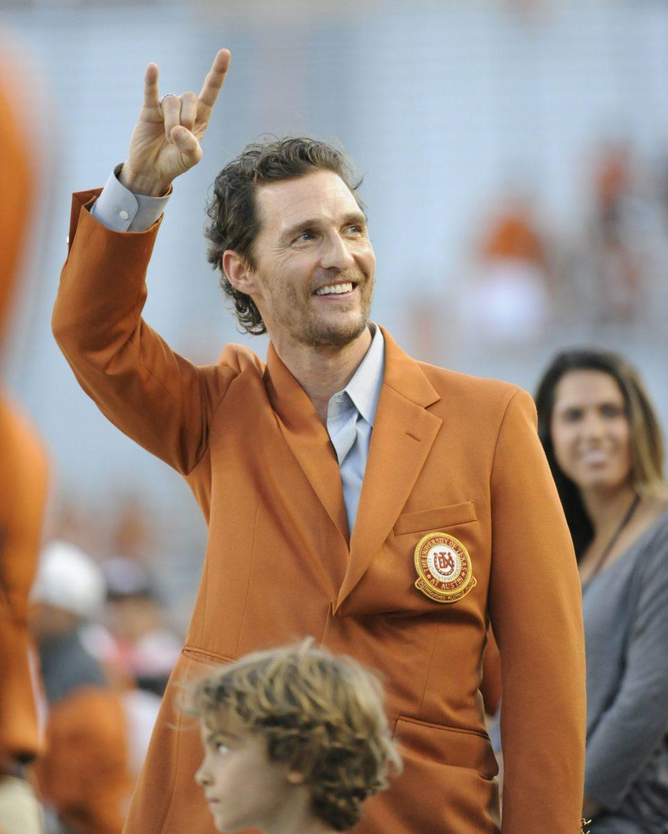 Matthew McConaughey Texas Governor politics