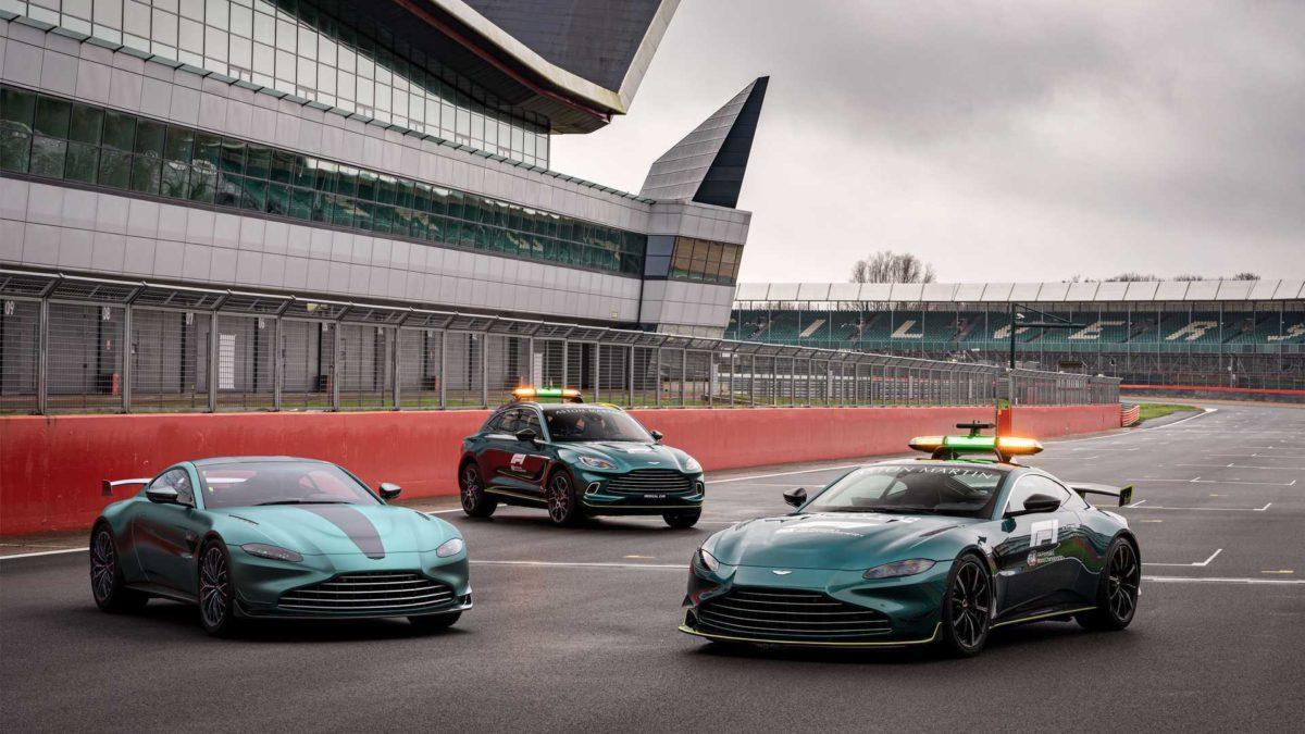 Aston Martin Vantage F1 Edition Street-Legal Safety Car
