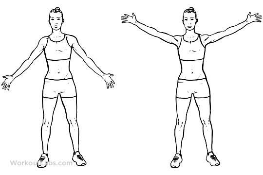 Best Shoulder Exercises For Men - Straight Arm Circles