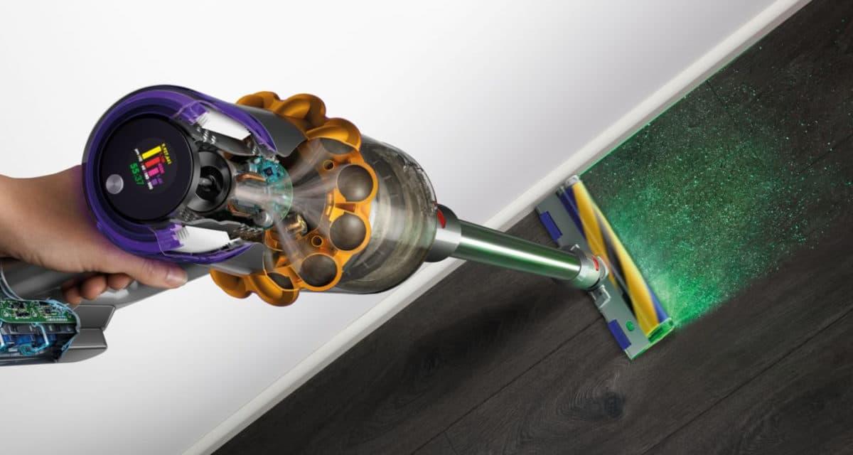 Dyson V15 Detect dust laser technology