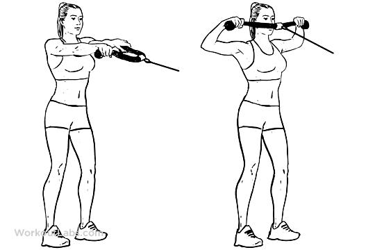 Best Shoulder Exercises For Men - cable face pulls