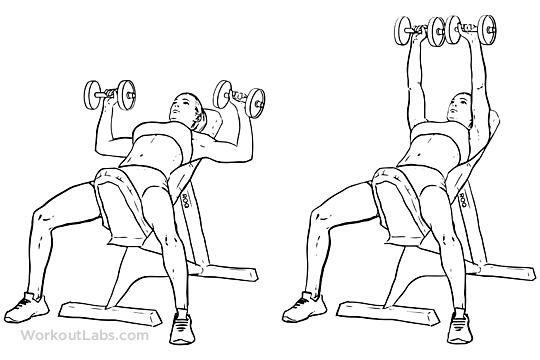 Best Shoulder Exercises For Men - incline bench press
