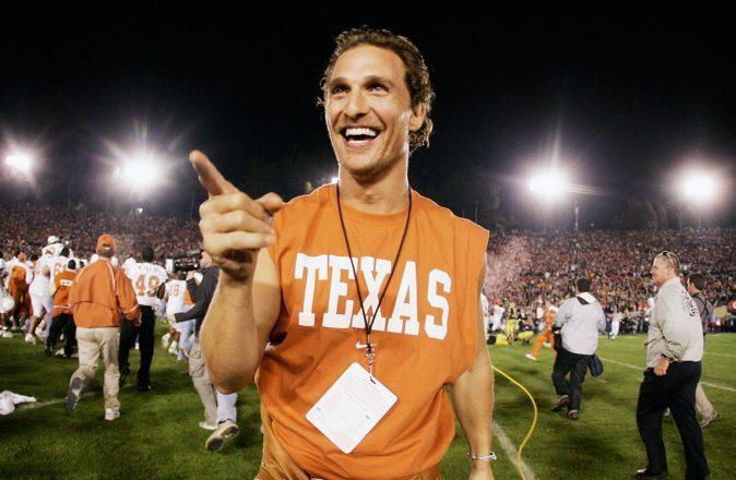 Matthew McConaughey Texas Governor