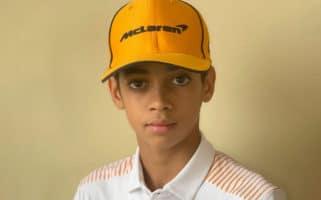 McLaren Signs Ugo Ugochukwu, 13-Year-Old Karting Prodigy