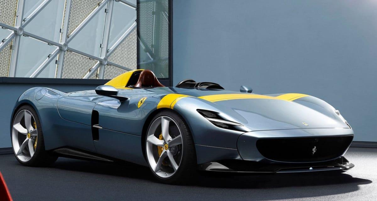 world's most beautiful car 2021 - 2019 ferrari monza sp1
