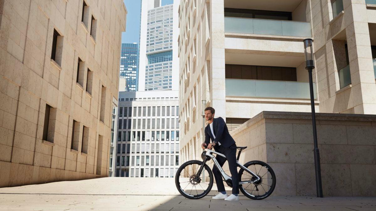 porsche electric bike sport cross