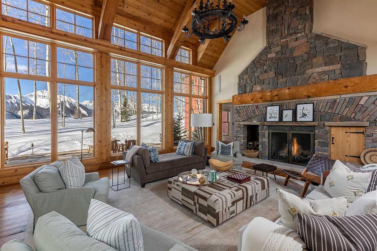 a look inside jerry seinfeld's colorado estate