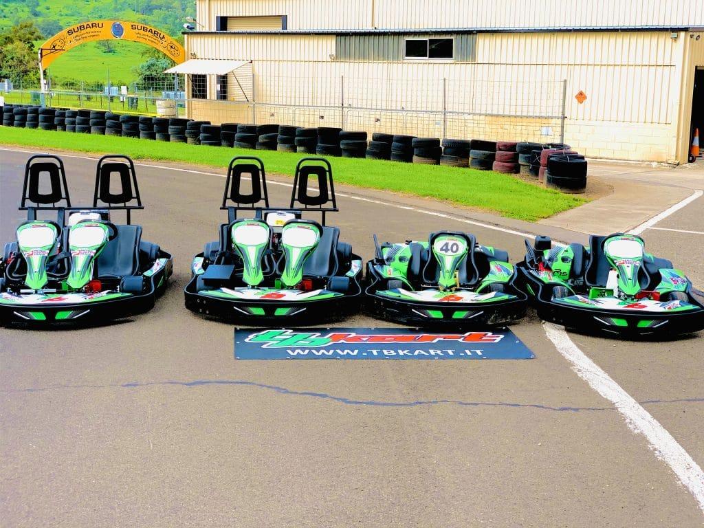 Picton go-karting